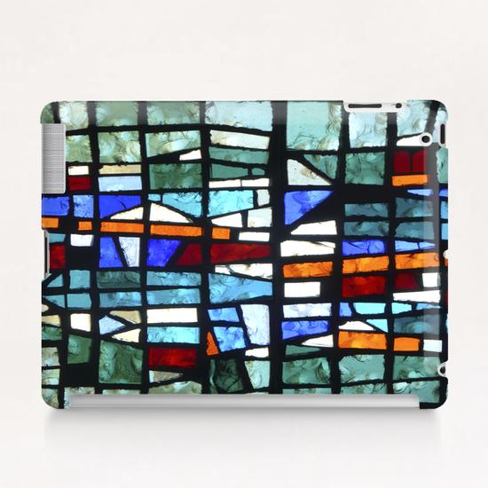 Green Vitrail Tablet Case by Georgio Fabrello