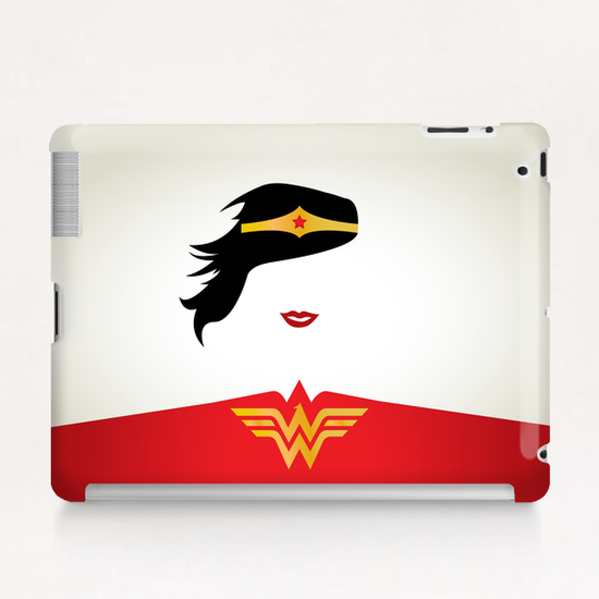WONDER WOMAN Tablet Case by Roberto Caporilli