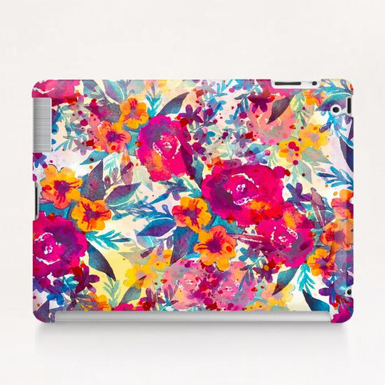 Watercolor flowers and plants 02 Tablet Case by mmartabc