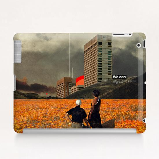 We Can Tablet Case by Frank Moth