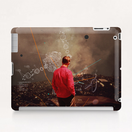 Weighing My Chances To Return Tablet Case by Frank Moth