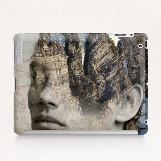 The sound of waves Tablet Case by Vic Storia