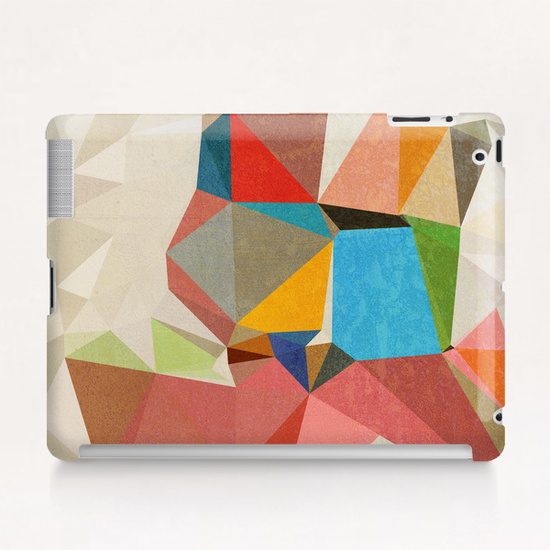 Abstract Pink Tablet Case by Vic Storia