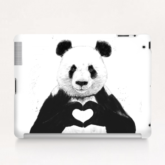 All you need is love Tablet Case by Balazs Solti
