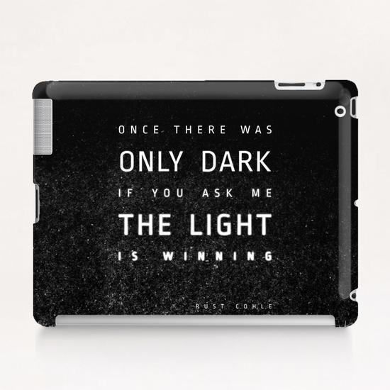 LIGHT vs DARK Tablet Case by DANIEL COULMANN