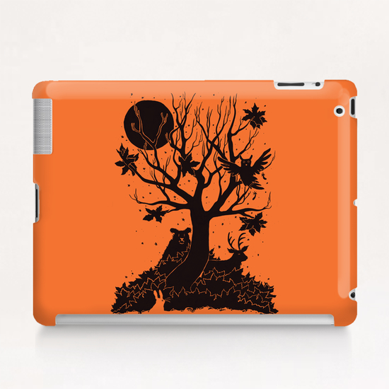 Autumn Forest Tablet Case by Tobias Fonseca