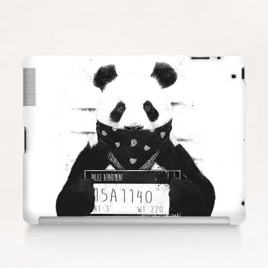 Bad panda Tablet Case by Balazs Solti