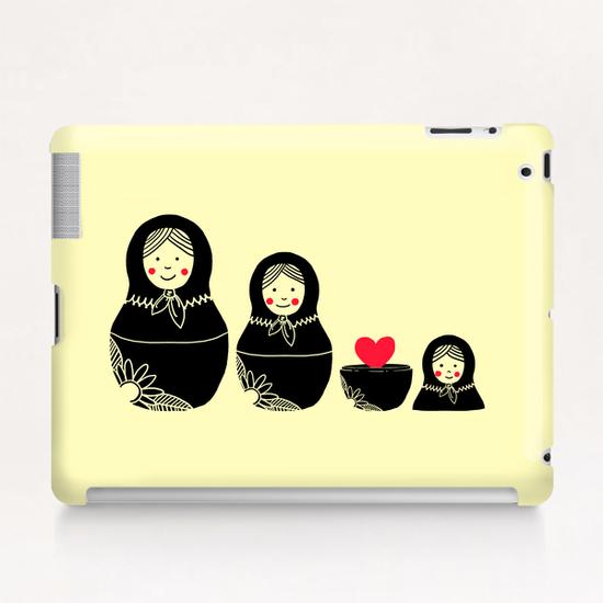 Beauty Inside Tablet Case by Tobias Fonseca