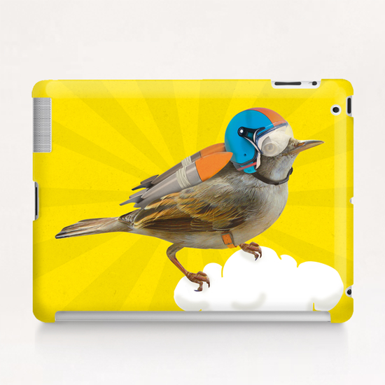 Rocket Bird Tablet Case by tzigone