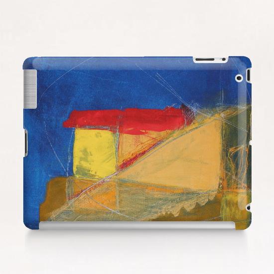 Bleu Profond Tablet Case by Pierre-Michael Faure