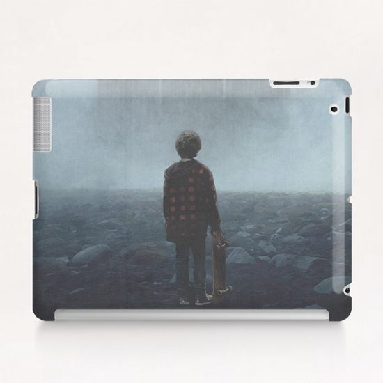 Boy and the Giants Tablet Case by yurishwedoff