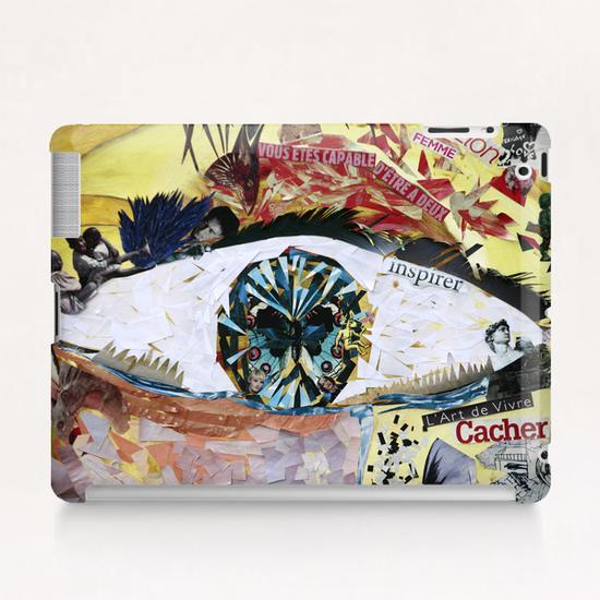 avoir peur et se cacher Tablet Case by frayartgrafik