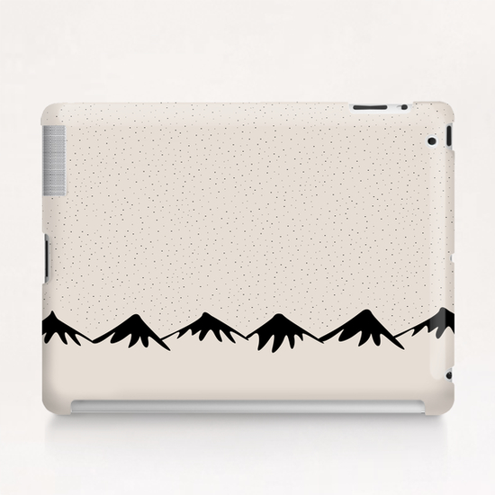 Snow and mountain by PIEL Tablet Case by PIEL Design