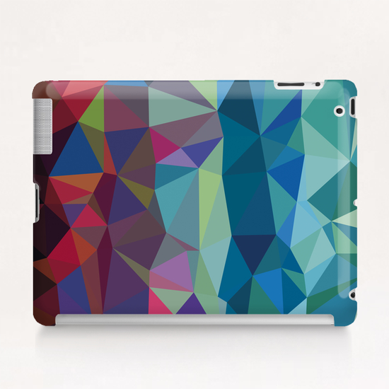 From Red to Blue Tablet Case by Vic Storia