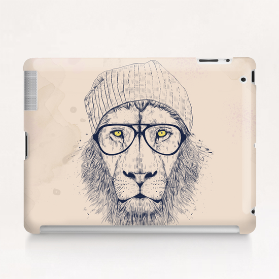 Cool lion Tablet Case by Balazs Solti