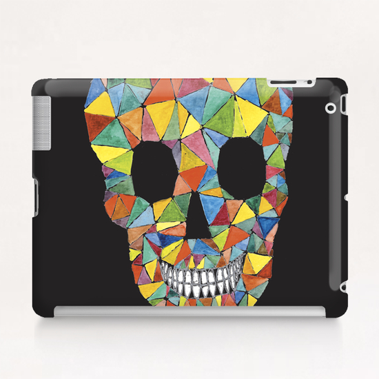 Rainbow Skull Tablet Case by Malixx