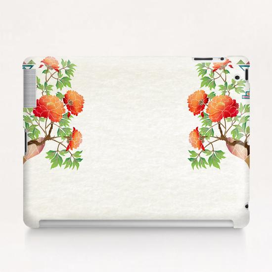 deer flowers Tablet Case by Manoou