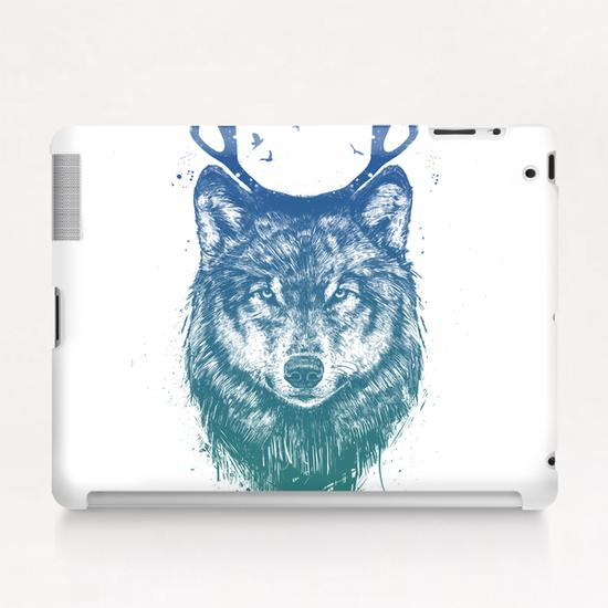Deer wolf Tablet Case by Balazs Solti