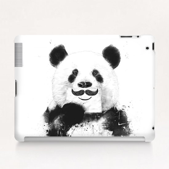 Funny panda Tablet Case by Balazs Solti