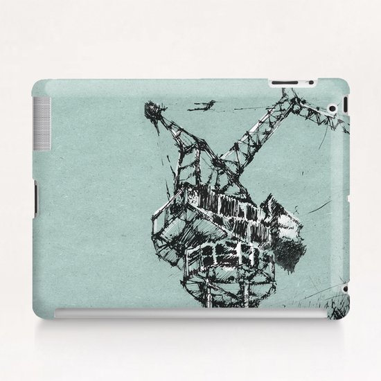 Crane Tablet Case by Georgio Fabrello