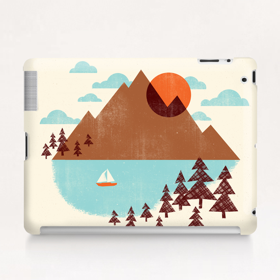 Indian Summer Tablet Case by Jenny Tiffany