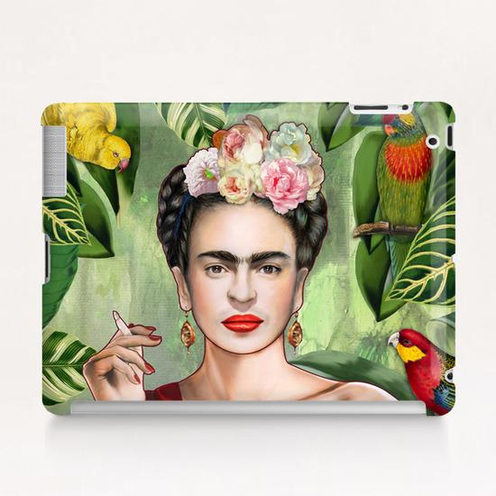 Frida con amigos Tablet Case by Nettsch