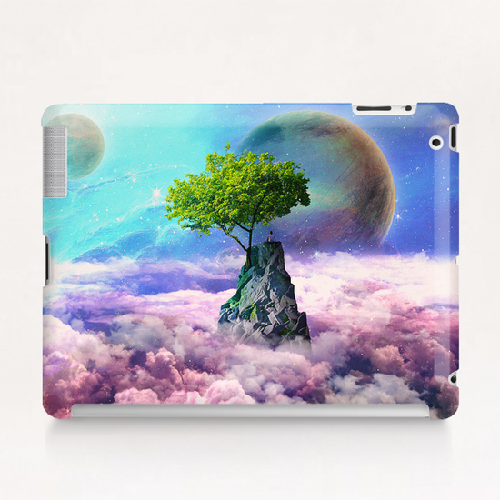 spectator of worlds Tablet Case by Seamless
