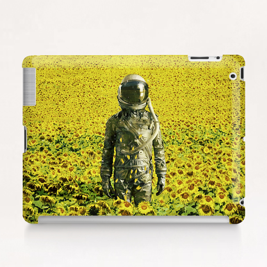 Stranded in the sunflower field Tablet Case by Seamless