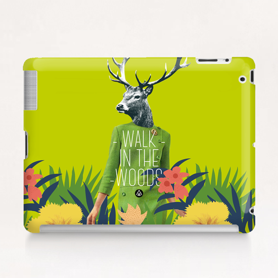 Walk in the woods Tablet Case by Alfonse
