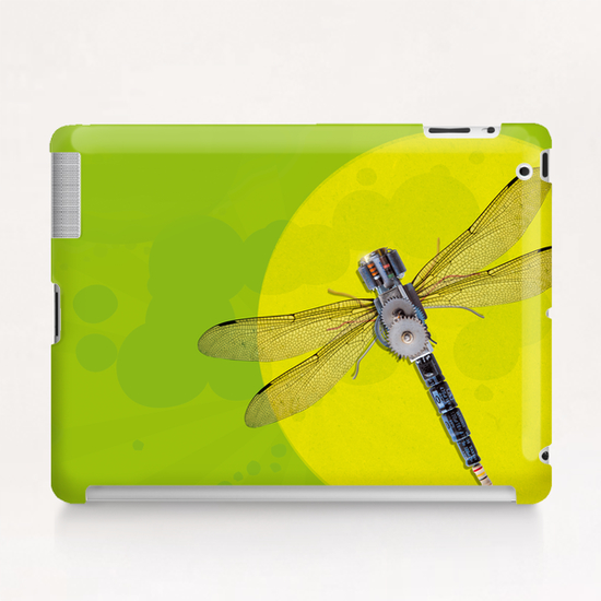 Mecanical Dragonfly Tablet Case by tzigone