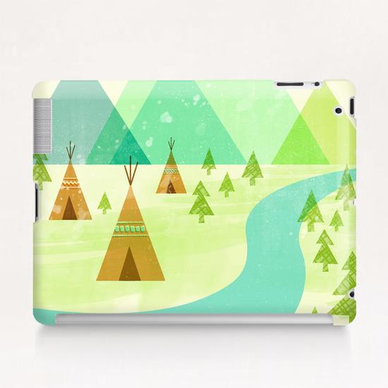 Native Lands Tablet Case by Jenny Tiffany