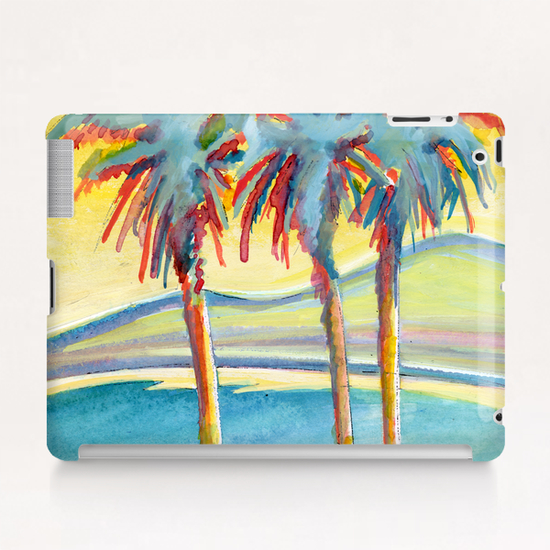 Palm Tree on the French Riviera Tablet Case by Georgio Fabrello