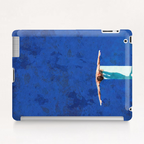 Le Plongeoir Tablet Case by Malixx