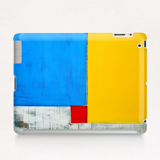 Red Square Tablet Case by Pierre-Michael Faure