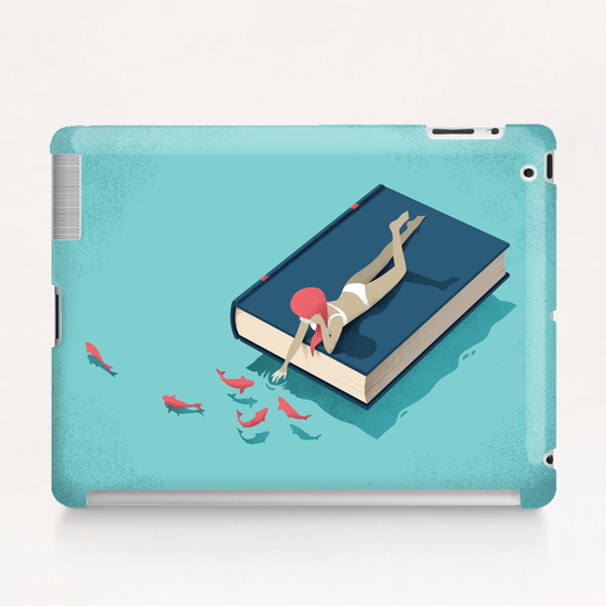 Relaxing Tablet Case by Andrea De Santis