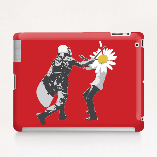 Flower Riot Tablet Case by tzigone