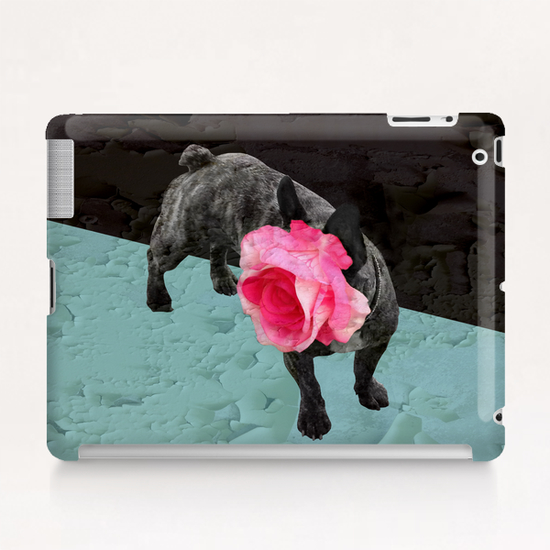 Romantic French Bulldog Tablet Case by Ivailo K