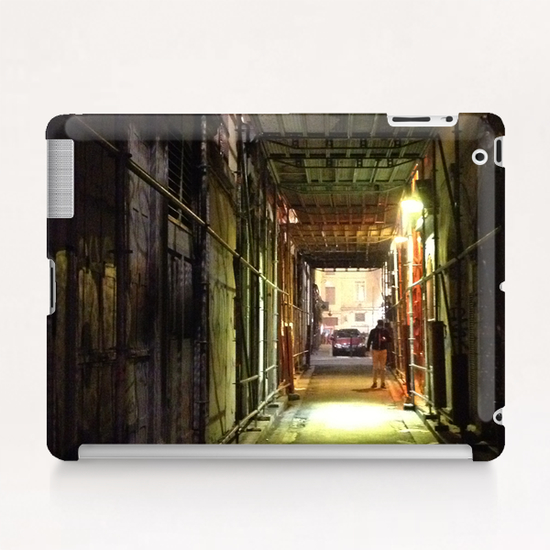 Ruelle de Lyon Tablet Case by Ivailo K