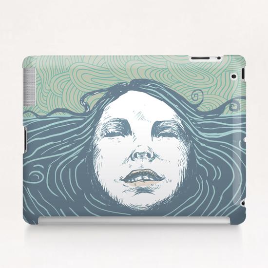 Sea-face Tablet Case by tzigone