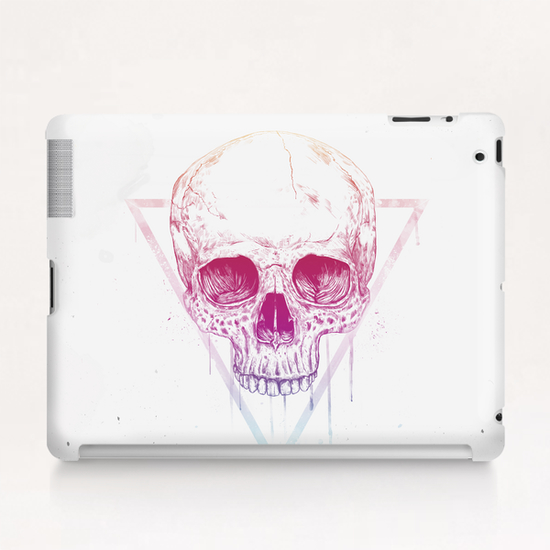 Skull in triangle Tablet Case by Balazs Solti