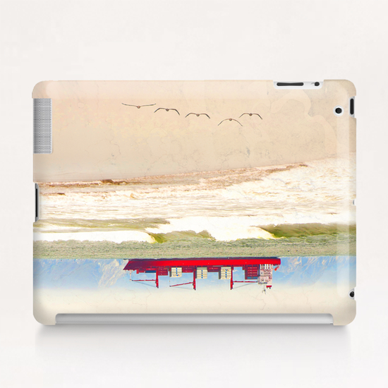 Supertankred Tablet Case by Vic Storia