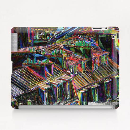 Roofs in Paris Tablet Case by Malixx