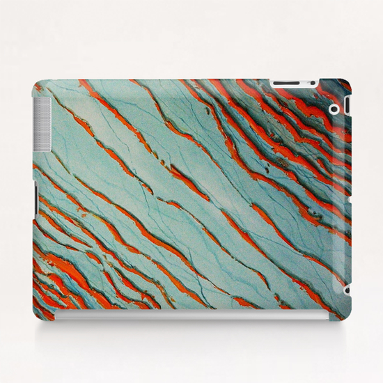Red Waves Tablet Case by di-tommaso