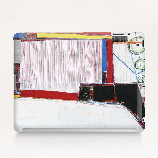 Vue du Ciel Tablet Case by Pierre-Michael Faure