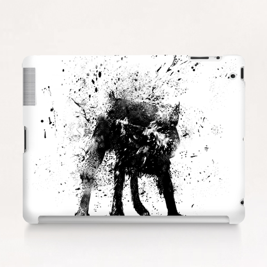Wet dog Tablet Case by Balazs Solti