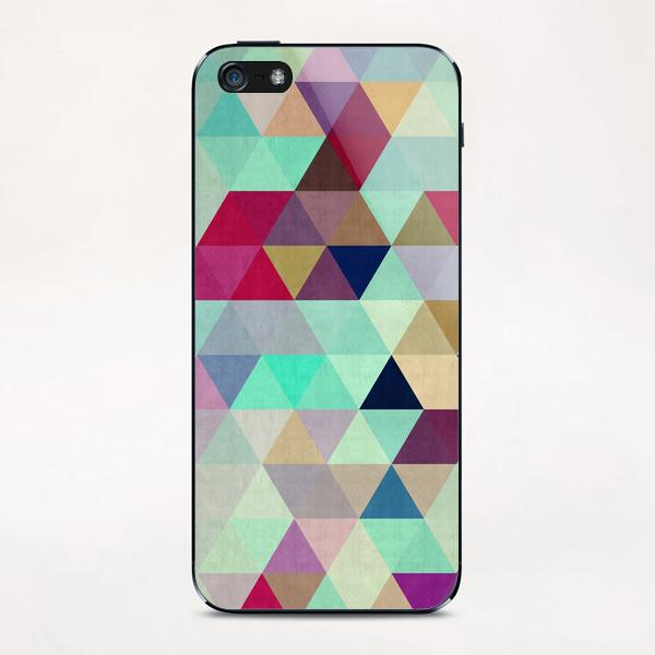 Pattern cosmic triangles II iPhone & iPod Skin by Vitor Costa
