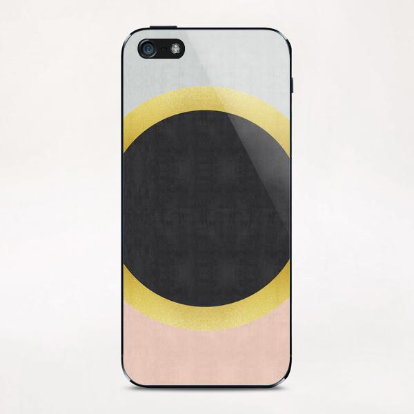 Geometric and golden art III iPhone & iPod Skin by Vitor Costa