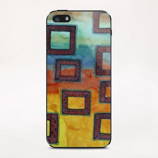 Gorgeous View through several Frames  iPhone & iPod Skin by Heidi Capitaine