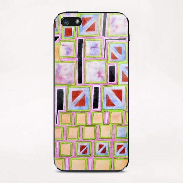 Composition out of Three Kind of Squares iPhone & iPod Skin by Heidi Capitaine