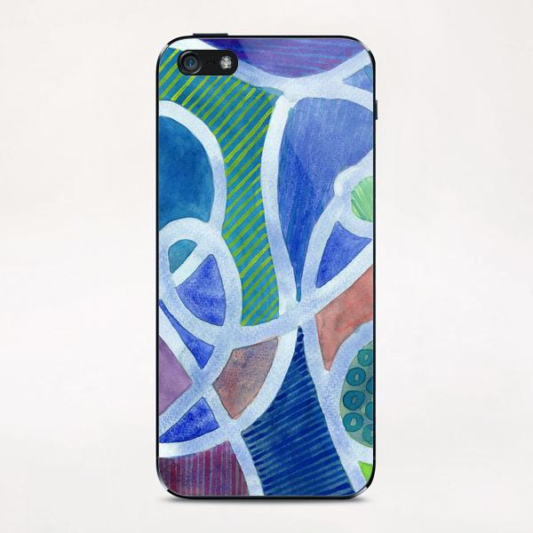 Curved Paths iPhone & iPod Skin by Heidi Capitaine
